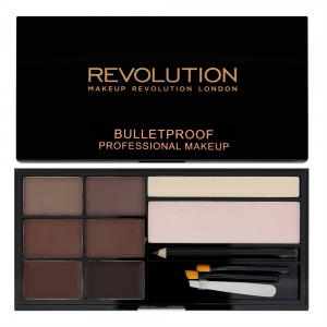 Kit Complet Pentru Sprancene Makeup Revolution Ultra Brow - Medium To Dark