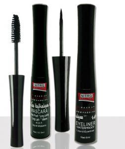 Rimel Nitro Make-up Cinema Mascara Waterproof cu Tus De Ochi - Negru0