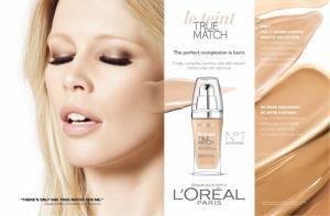 Fond de Ten L'oreal True Match (Accord Parfait) - N5 Sand1