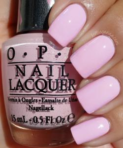 Lac de Unghii OPI Nail Lacquer Matte - You Better Pink1