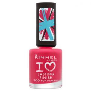 Lac de unghii Rimmel I Love Lasting Finish - 300 Pop Your Pink0