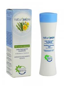 Lapte Demachiant Emolient Naturissima - 200 ml