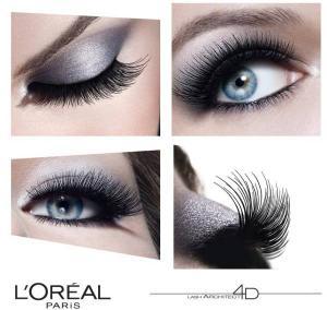 Rimel L'OREAL Lash Architect 4D False Lash Effect Mascara - Negru, 10ml1