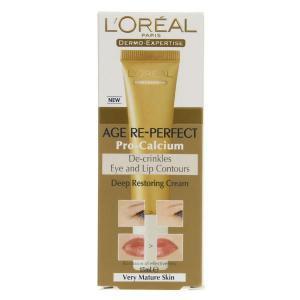 Crema pt. conturul ochilor si buzelor L'OREAL AGE Pro Calcium1