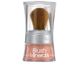 Fard de Obraz L'Oreal Paris Blush Minerals - 50 Soft Rosewood, 5 g