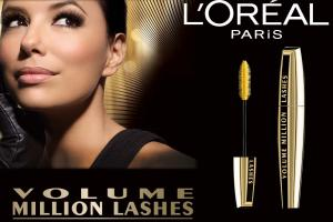 Rimel L'OREAL Volume MILLION Lashes Mascara - BLACK (Negru Intens)1