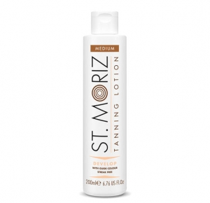 Lotiune Autobronzanta Profesionala ST MORIZ Tanning Lotion Develop - Medium, 200 ml0