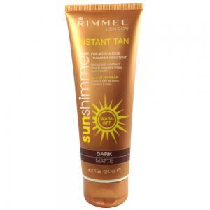 Lotiune autobronzanta Rimmel Sun Shimmer - Dark Matte 125 ml