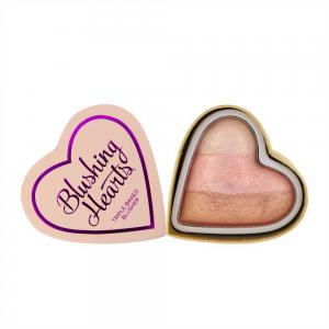 Blush Iluminator Makeup Revolution I Heart Makeup Blushing Hearts - Iced Hearts, 10g
