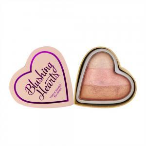 Blush Iluminator Makeup Revolution I Heart Makeup Blushing Hearts - Iced Hearts, 10g