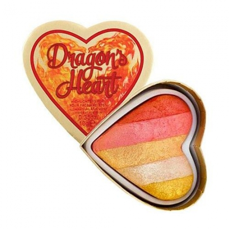 Paleta Iluminatoare I Heart Revolution Dragon's Heart Highlighter, 10 g