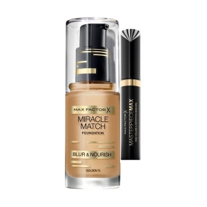 Pachet Promotional  Fond de ten si Rimel  Max Factor Miracle Match