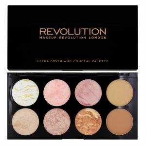 Paleta Cu 8 Blush-uri Makeup Revolution Ultra Blush  Golden Sugar