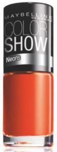 Oja Maybelline Color Show Neons - 191 Orange Fix0