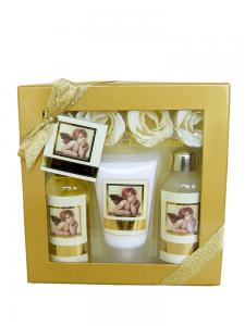 Pachet Promotional VILLAGE COSMETICS Floral Gold