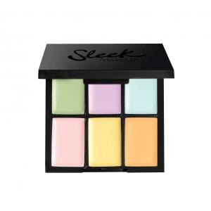Paleta 6 Corectoare Cremoase SLEEK MakeUP Colour Corrector Palette, 6x0.4 gr