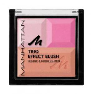 Paleta Bronzanta Iluminatoare MANHATTAN Trio Effect - Pink Cupcake0