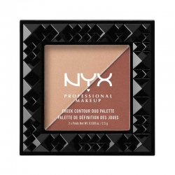 Paleta Pentru Conturarea Fetei Nyx Professional Makeup Cheek Contour Duo - Ginger&Pepper, 2.5 gr