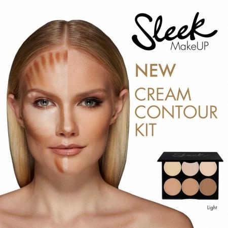 Paleta conturare Makeup Cream Contour Kit Light, 12g2