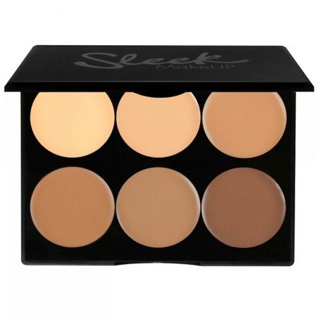 Paleta conturare SLEEK MakeUP Cream Contour Kit Medium 096, 12g