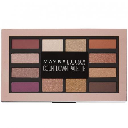 Paleta de farduri Maybelline New York Countdown Palette, 12 g