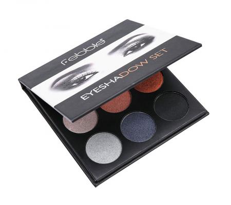 Paleta farduri Febble Eyeshadow Set 9 Colors, 04