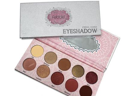 Paleta farduri Febble Eyeshadow Eternal Charm! 10 Colors