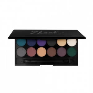 Paleta farduri Sleek MakeUp i-Divine Eyeshadow Palette Ultra Mattes V2 Darks  12x0.8 gr