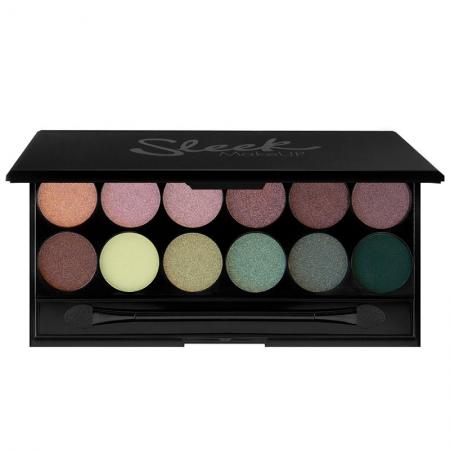 Paleta farduri SLEEK MakeUP i-Divine Eyeshadow Palette Garden Of Eden, 12x1 gr