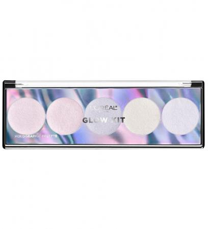 Paleta Iluminatoare L'Oreal Paris Highlighter Glow Kit Holographic Palette
