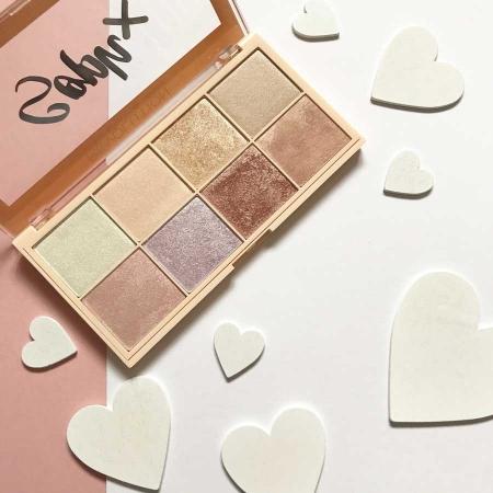Paleta Iluminatoare Makeup Revolution Soph X Highlighter Palette, 8 nuante x 2g5