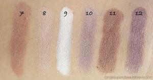 Paleta Profesionala cu 12 Farduri MUA Makeup Academy Professional Eyeshadow Palette, Heaven and Earth3