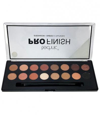 Paleta Profesionala de Farduri Technic PRO Finish Eyeshadow, Toffee Edition
