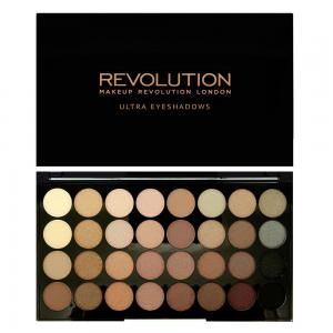 Paleta Profesionala Cu 32 Farduri Makeup Revolution - Beyond Flawless