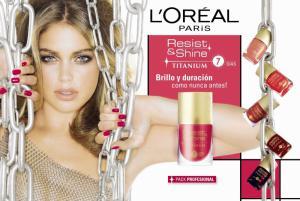 Oja L'oreal Resist & Shine Titanium - 001 Pure Transparent1