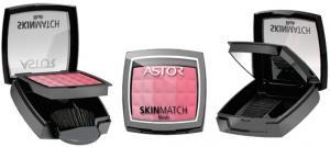 Fard De Obraz Astor Skin Match Trio Blush-002 Peachy Coral1