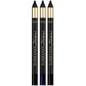 Creion De Ochi L'oreal Super Liner Silkissime - Moonlight Blue1