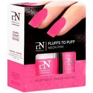 Lac de Unghii PRONAILS cu Catifea Fluffs To Puff - Neon Pink0
