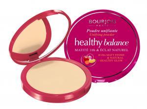 Pudra Compacta Matifianta BOURJOIS Healthy Balance 10h Matt Finish 52 Vanilla, 9 gr