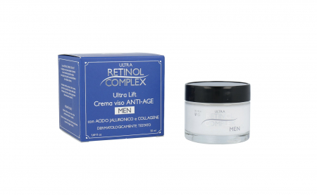 Crema anti-imbatranire pentru barbati, Ultra Retinol Complex, 50 ml