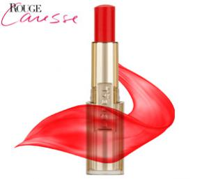 Ruj L'oreal Caresse - 401 Rebel Red0