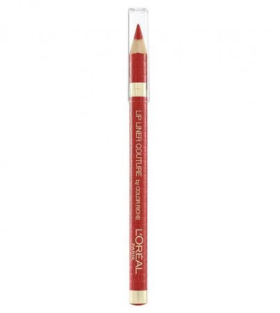 Set Buze L'Oreal Paris Color Riche Lip Kit: Ruj 297 Red Passion si Creion de Buze 377 Perfect Red4