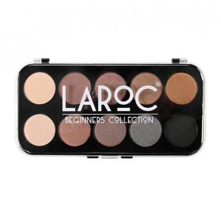 Paleta Profesionala cu 10 Farduri LAROC Eye Shadow Palette