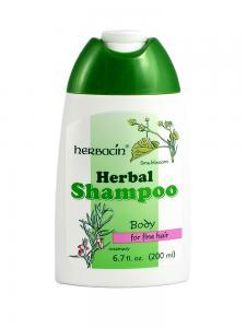 Sampon Pentru Par Normal Si Subtire Herbacin - 200 ml