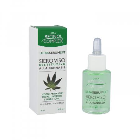 Ser antirid cu extract de Cannabis, Ultra Retinol Complex, 30 ml