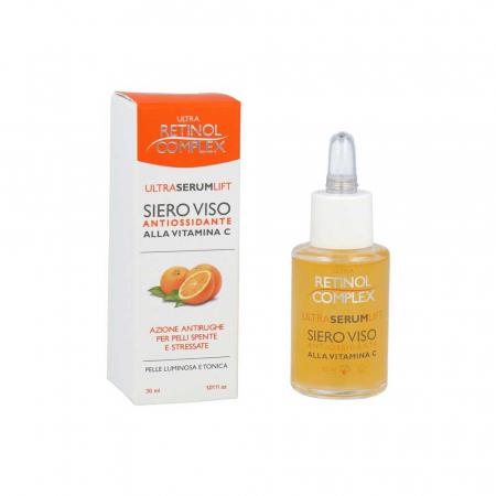 Ser antirid cu vitamina C, Ultra Retinol Complex, 30 ml