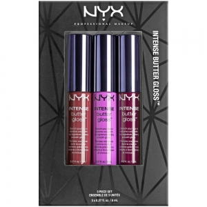 Set De 3 Luciuri De Buze Nyx Professional Makeup Intense Butter Gloss - 04