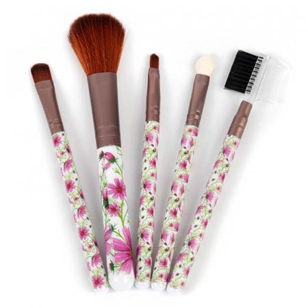 Set 5 Pensule Practice pentru machiaj, Spring Flowers
