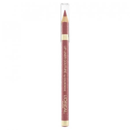 Set Buze L'Oreal Paris Color Riche Matte Lip Kit: Ruj 636 Mahogany Studs si Creion de Buze 302 Bois De Rose2
