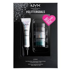 Kit cu 3 Nuante Glitter Nyx Professional #GlitterGoals  01, 10 gr